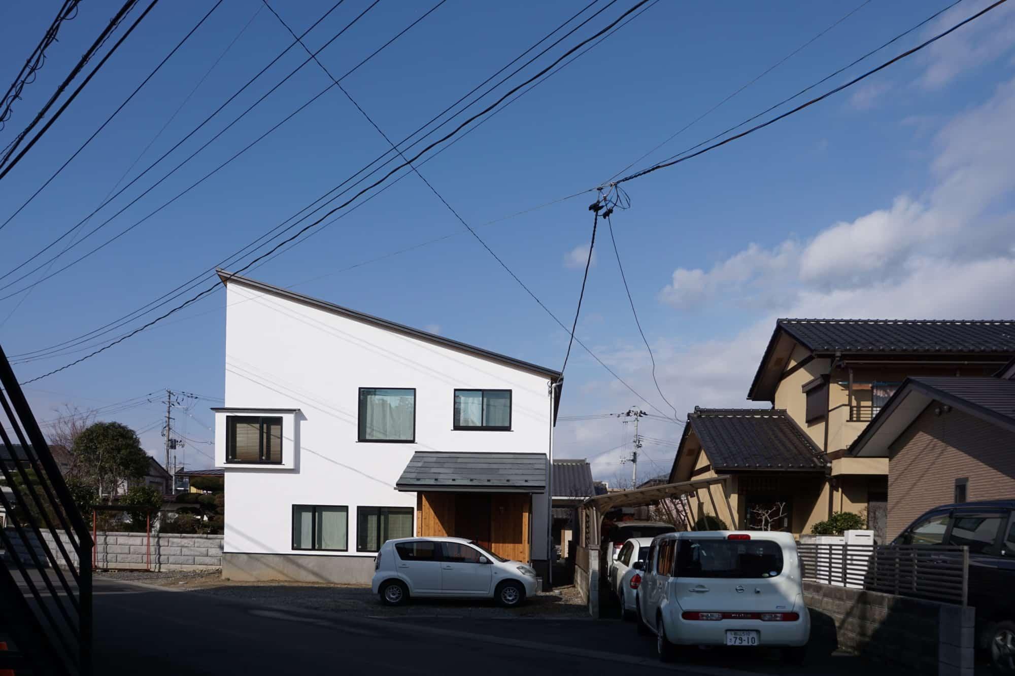 家族の居場所がいっぱい。自然素材でつくる6層スキップフロアの家。