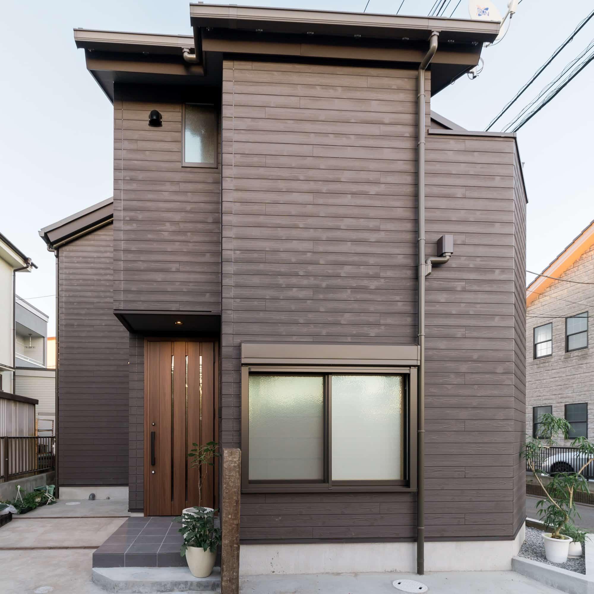 楽しい暮らしの工夫がいっぱい。19.7坪の小さな家。